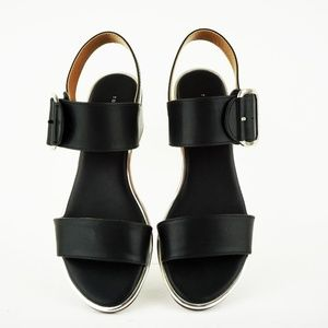 45a55a4d361 Tommy Hilfiger Shoes - Tommy Hilfiger Katz Block-Heel Sandal Black